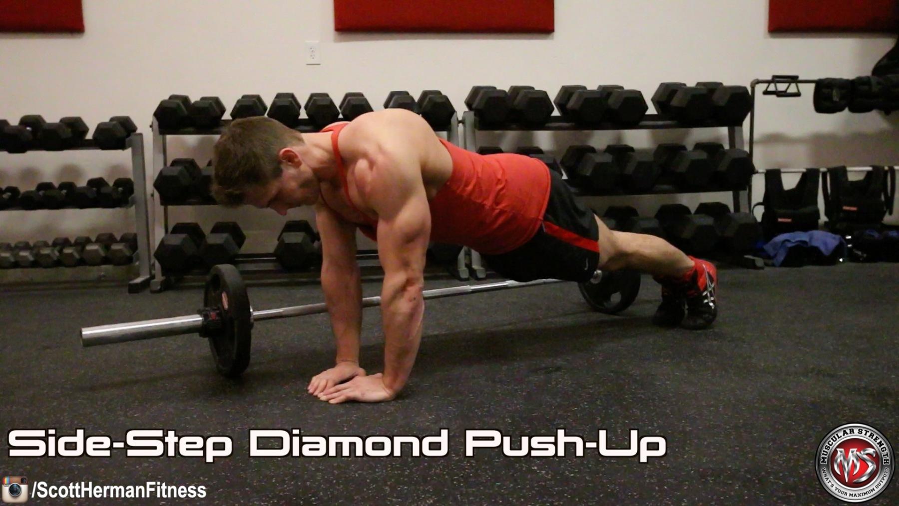side-step-diamond-push-up