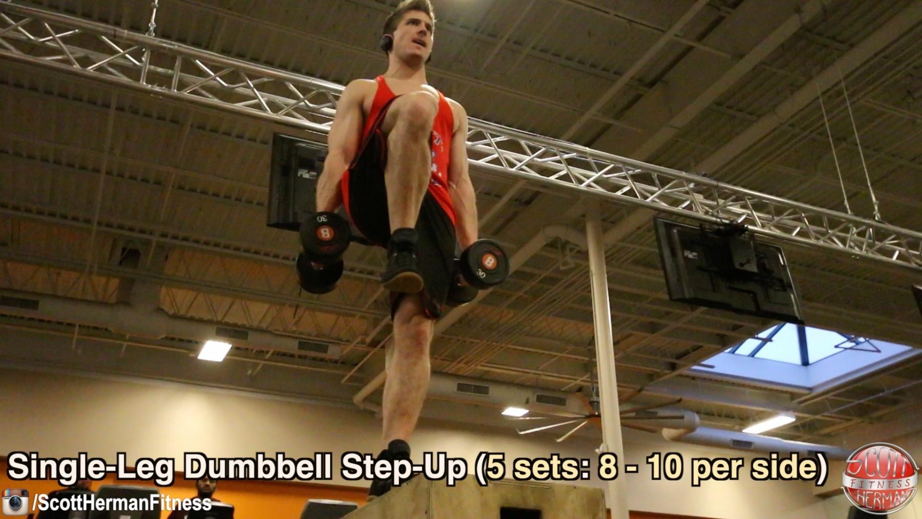 single-leg-dumbbell-step-up