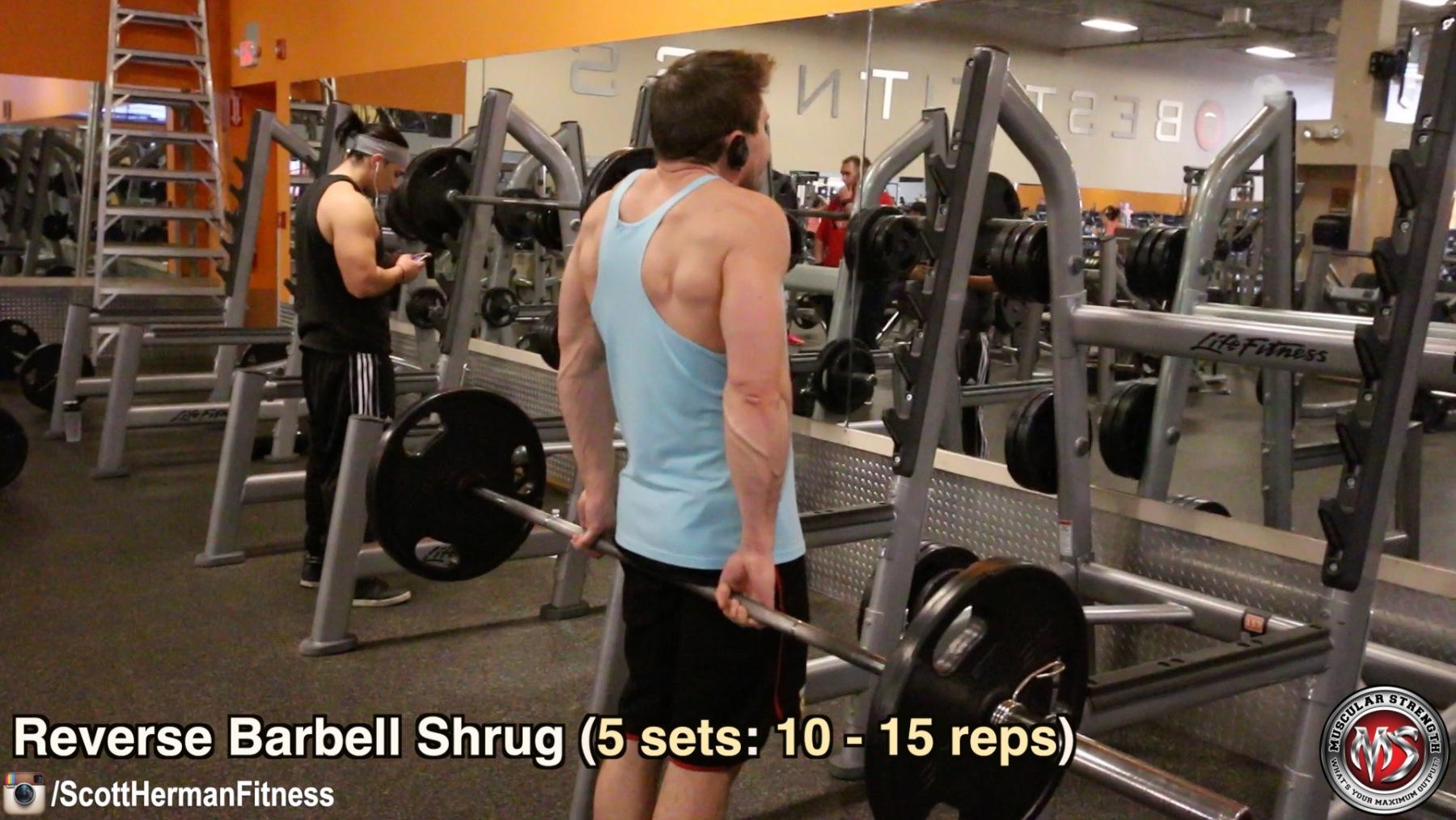 reverse-barbell-shrug