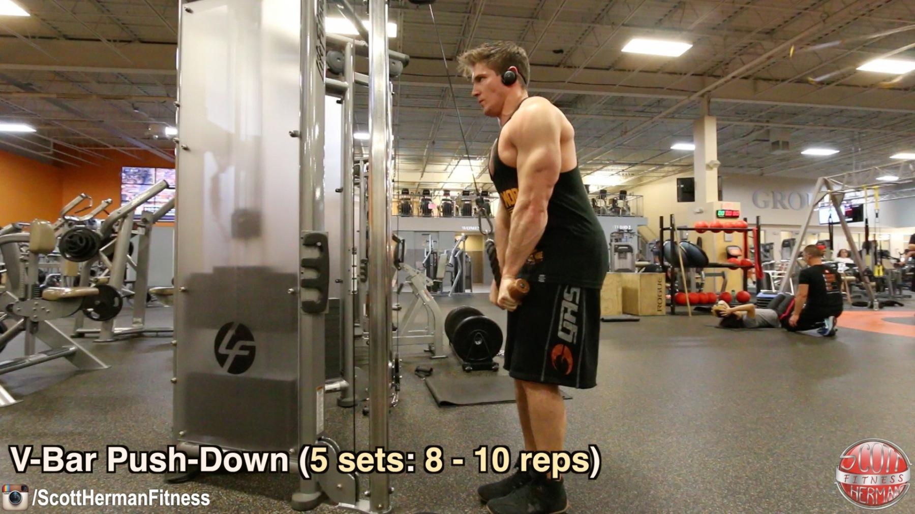 v-bar-push-down