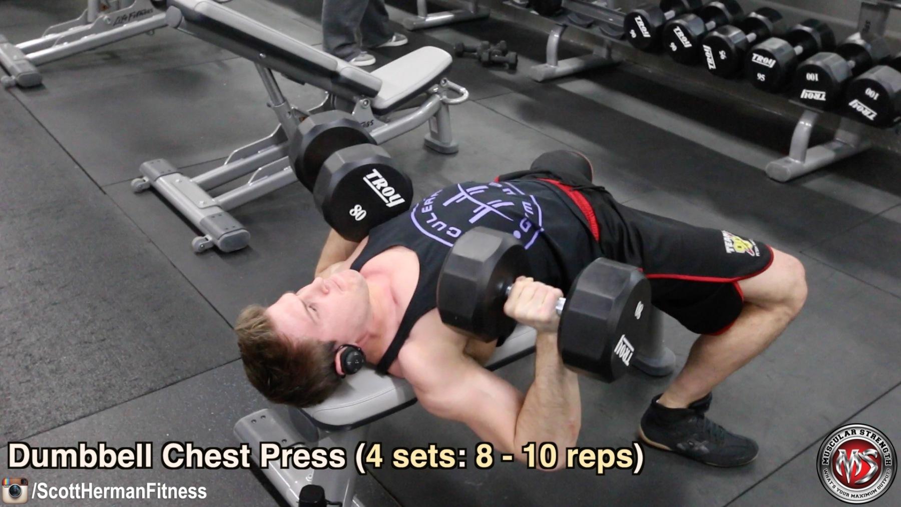dumbbell-chest-press
