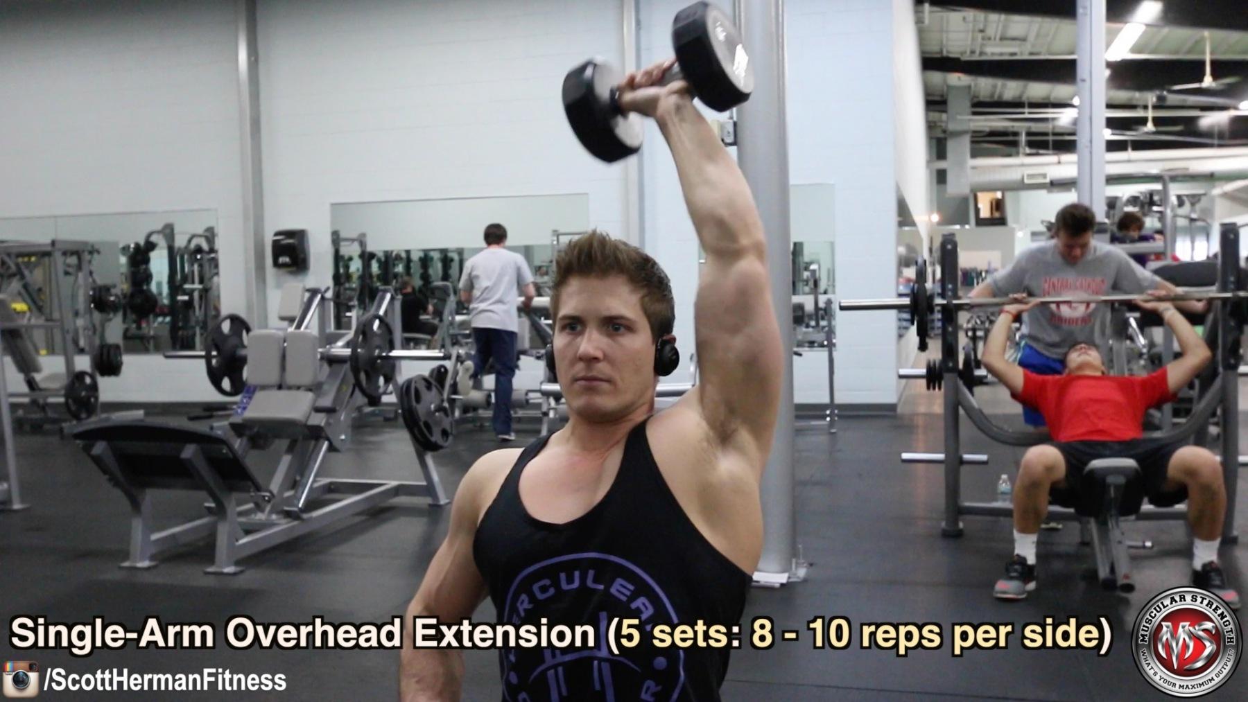 single-arm-overhead-extension