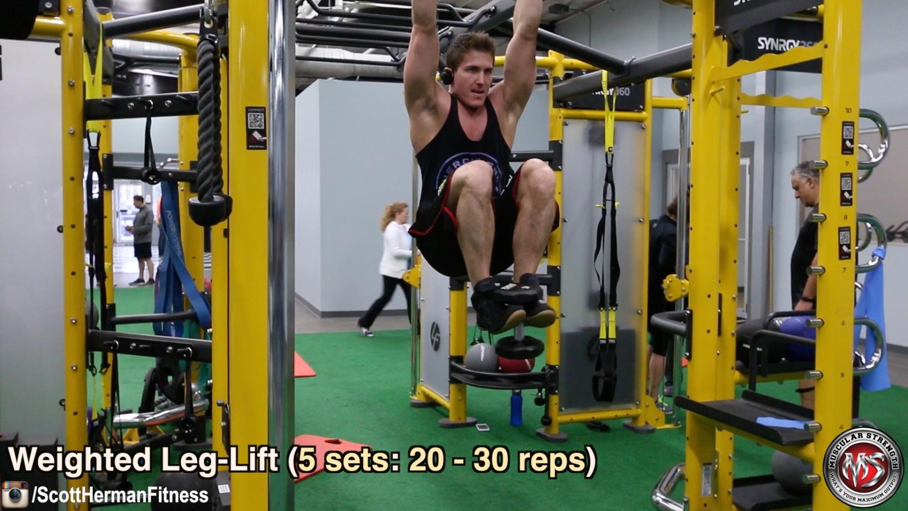 weighted-leg-lift