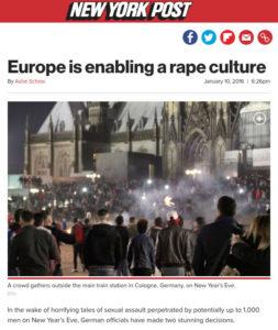 Europe is enabling a rape culture